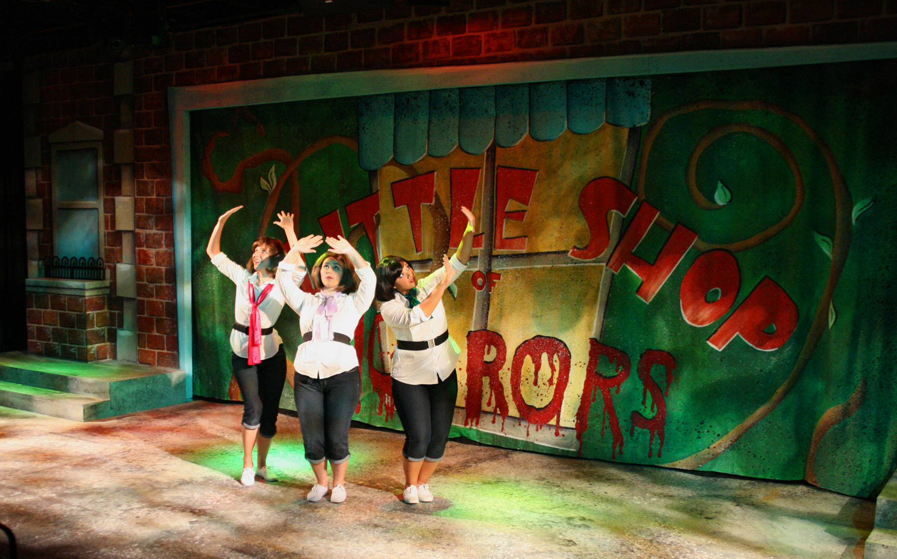 """Little Shop of Horrors  """"Opening"""" (Ronette- hot pink necktie)"""
