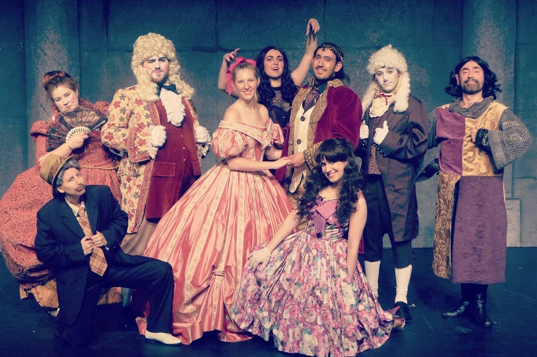 The cast of  Beauty and the Beast