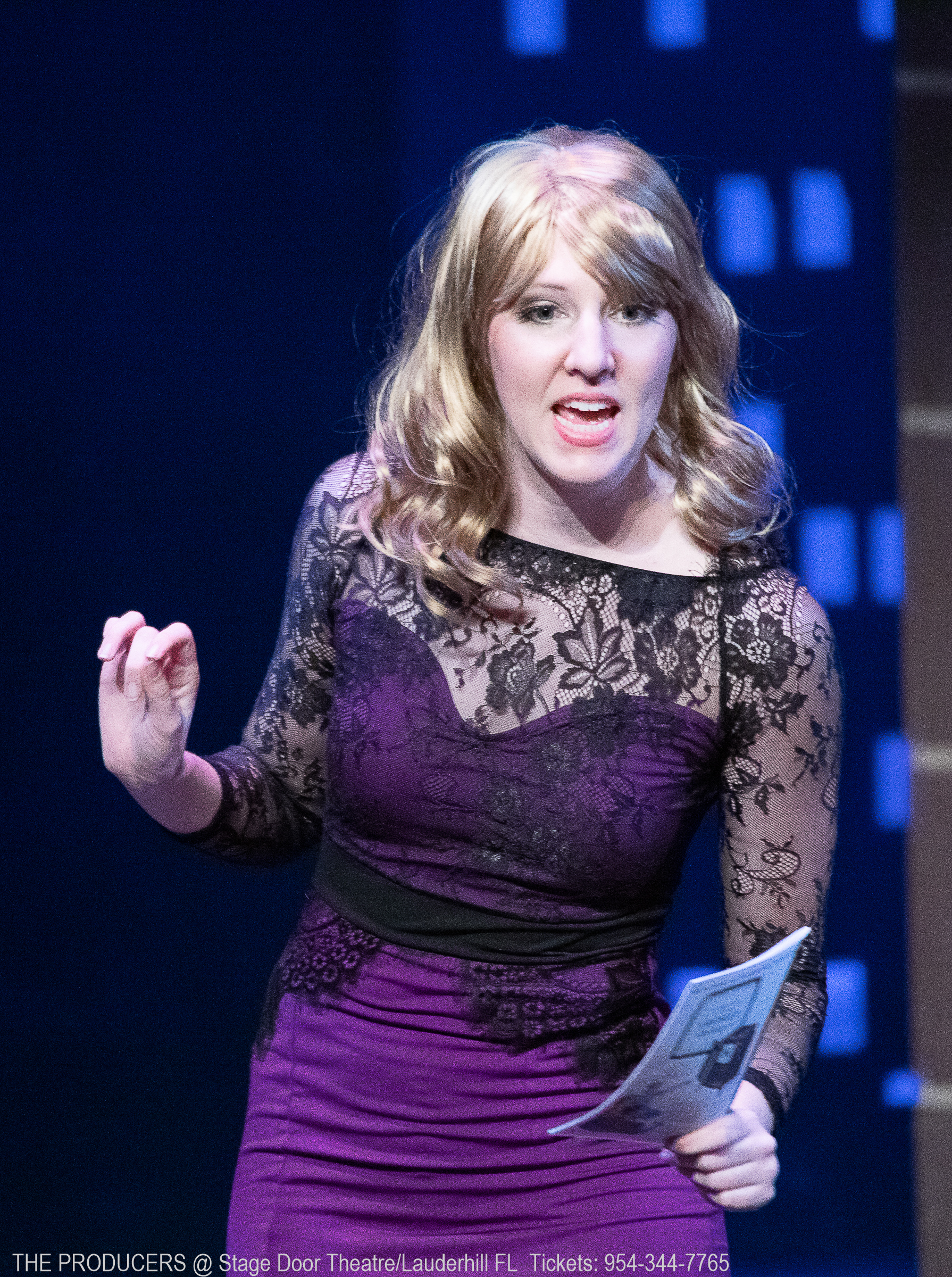 """""""Opening Night"""" in  The Producers"""