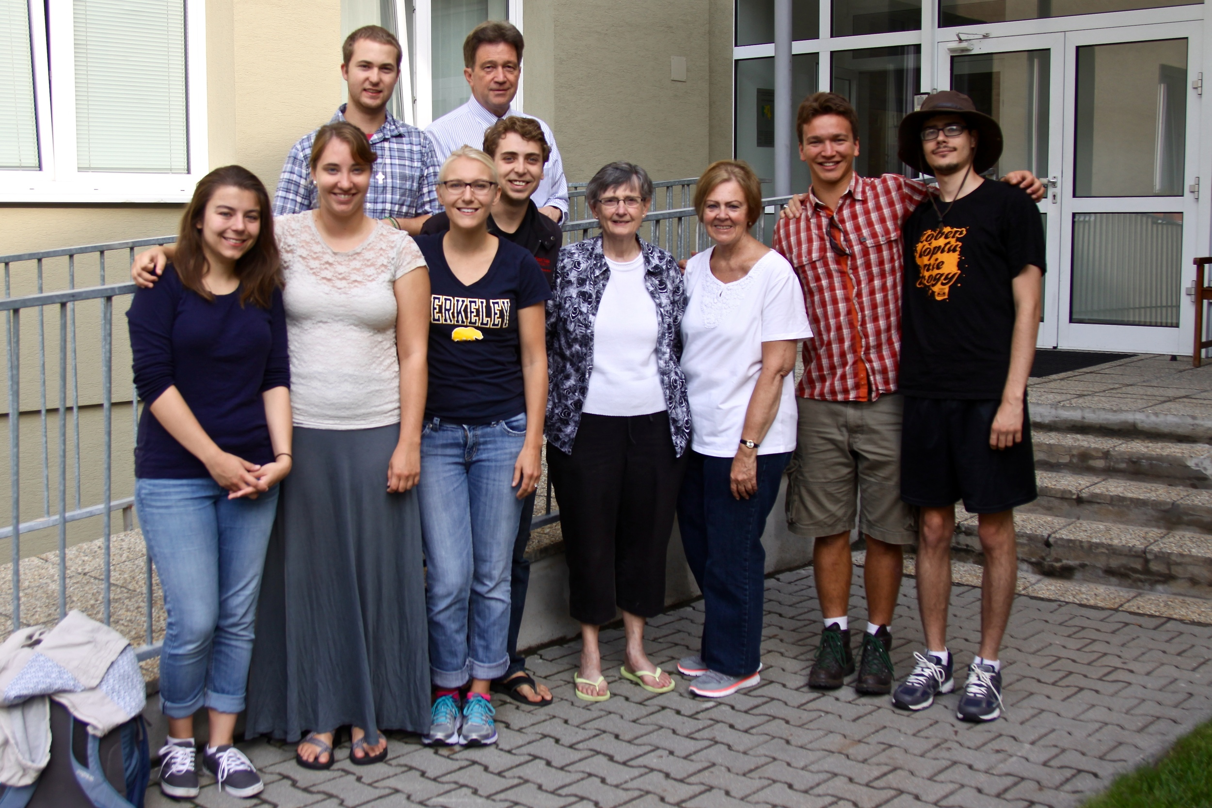 Most of the Central European Teachers and our teachers!
