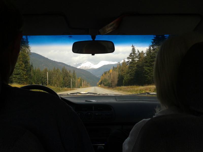 Driving to Jasper