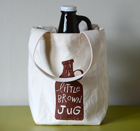 craft beer gift guide - growler bag