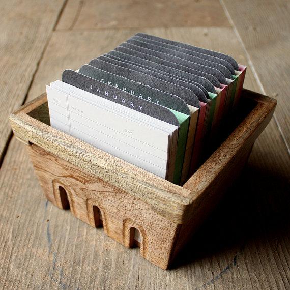 perpetual calendar - crate