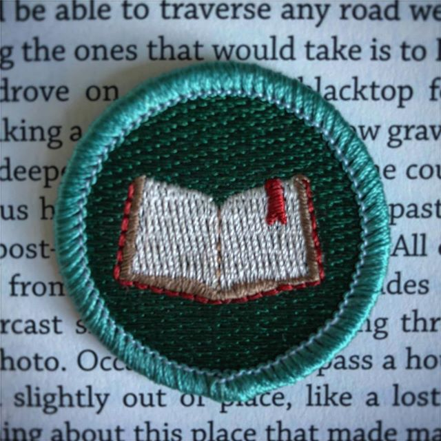 The January badge of the month is ... 📚Bookworm📚! Sign up for our newsletter now (link in profile) if you want to dedicate more time to reading in 2019. Reading keeps you intellectually hungry and perpetually curious, which is why it's the perfect badge to kick off a year of learning new things. The next few newsletters will be chock full of reading-related tips and inspiration, such as how to fit more reading into your daily routine. The first newsletter goes out Monday. Happy reading! #📖 . . . #BadgeOfTheMonthClub . . . #reading #bookstagram #books #booklove #read #bookworm #booklover  #bookish #literature #booknerd #bibliophile #instabook #reader #author #writer #story #bookaholic #bookshelf #amreading #goodreads