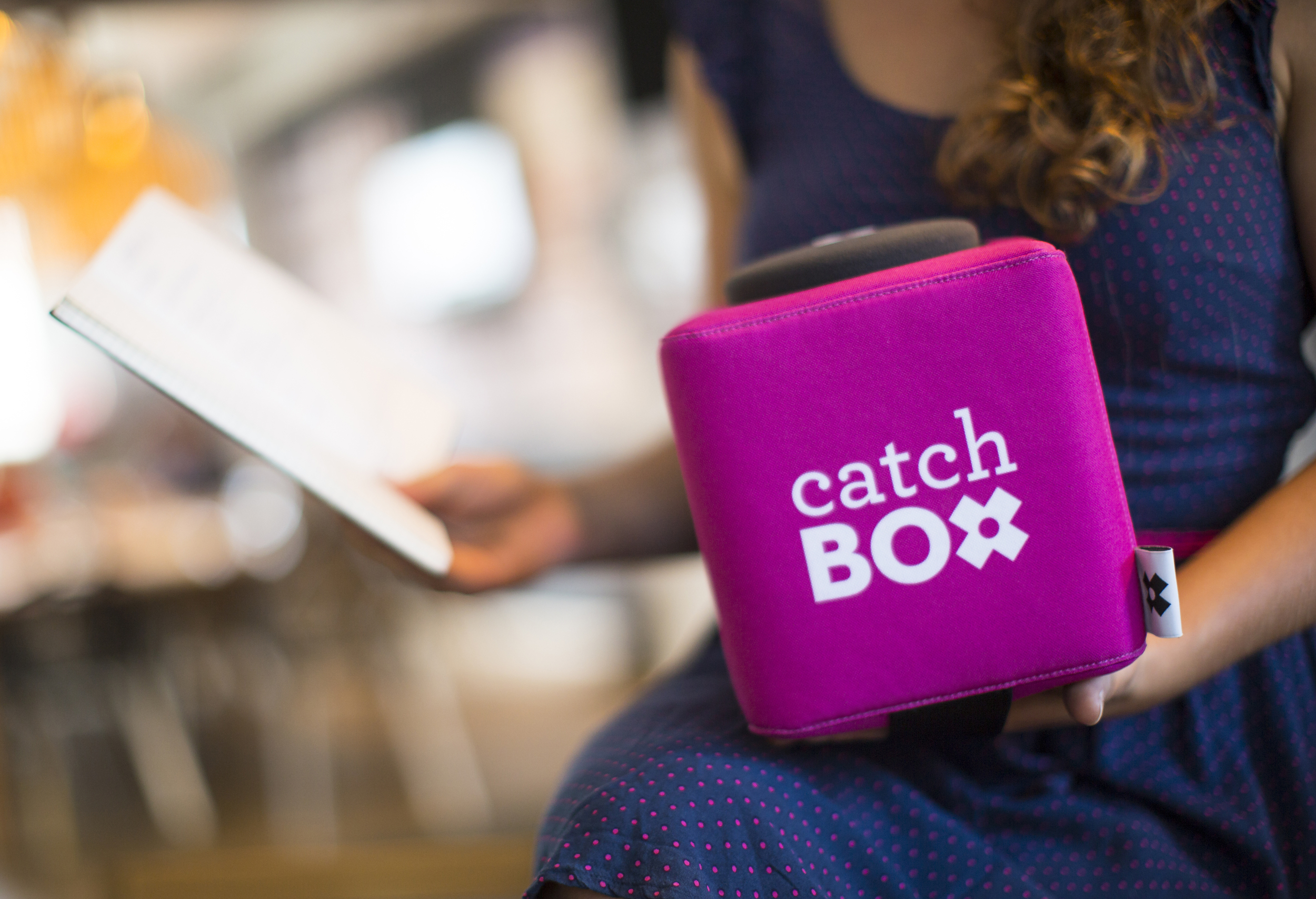 Catchbox for Q&A