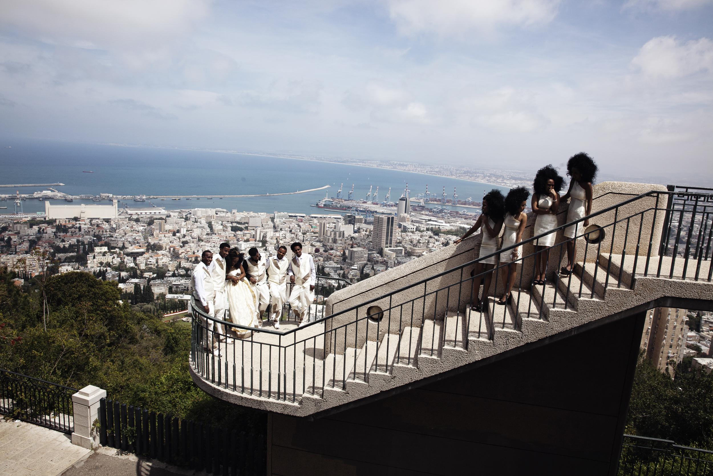 Eritrean Wedding in Haifa, Israel.