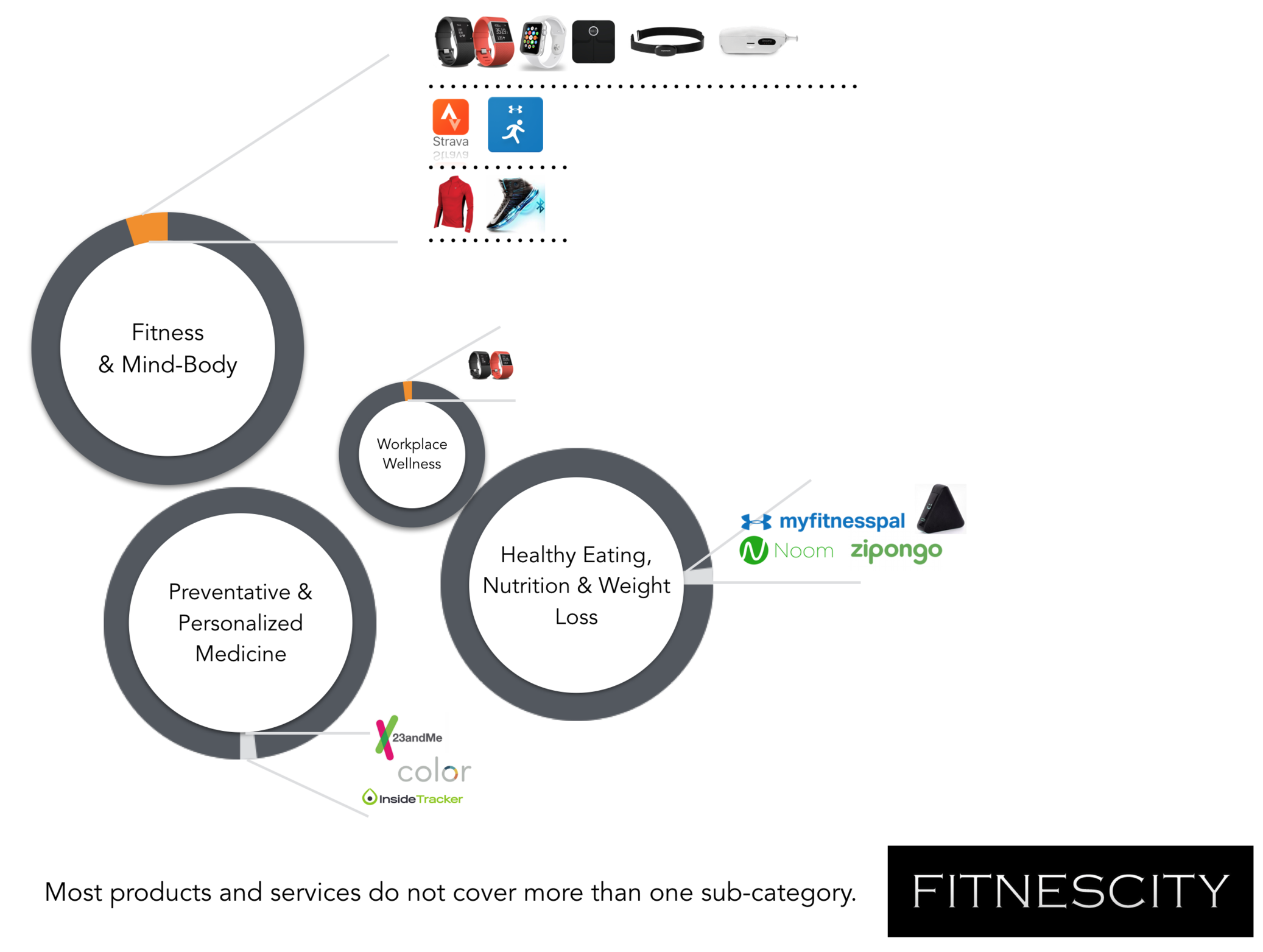 Personalized, Data-Driven Wellness is a Fragmented Industry