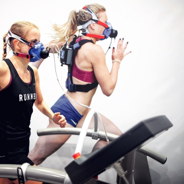 VO2 Max Test - Photo credit: Cosmed