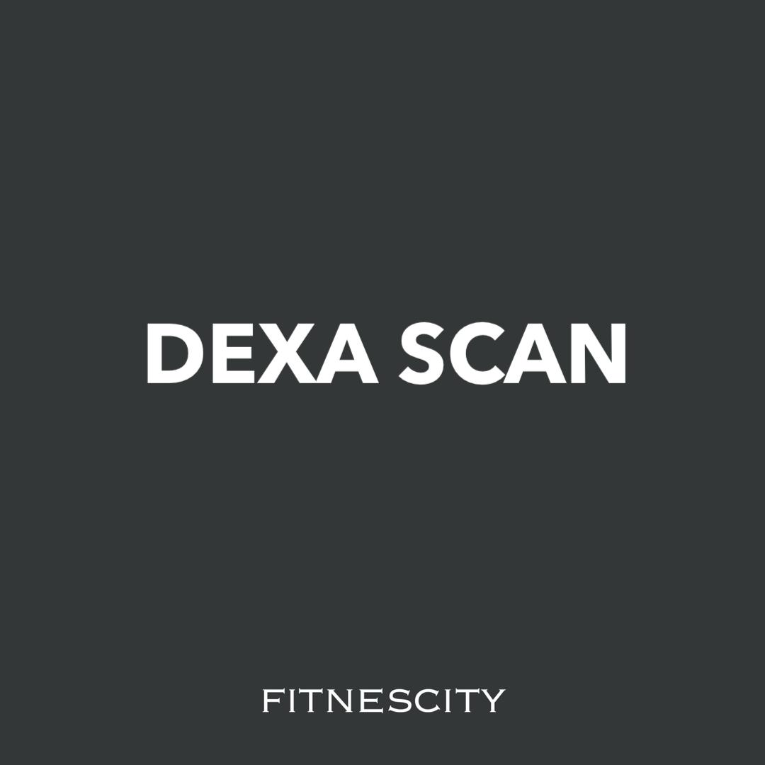 DEXA body composition scan