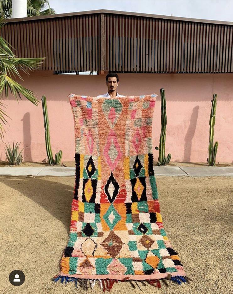 Moroccan Rug // Soukie Modern