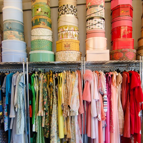 Photo courtesy of @thefineartofdesign   The Fine Art of Design  // 73717 Highway 111 Palm Desert  Not far outside of Palm Springs is this little gem of a shop full of vintage clothing.