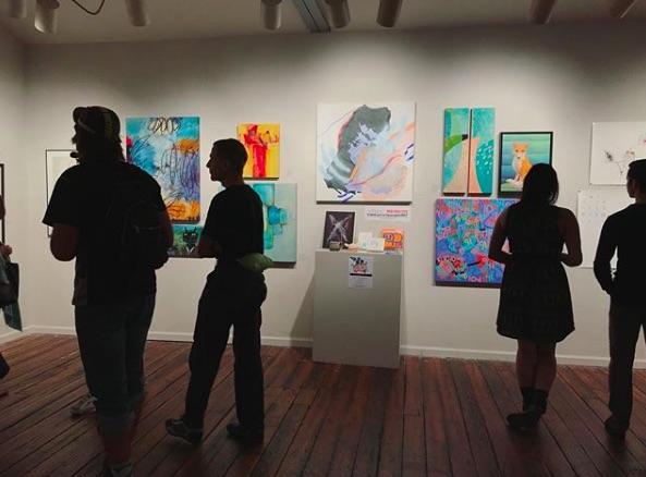 Photo leading up to  Artspace  Gala