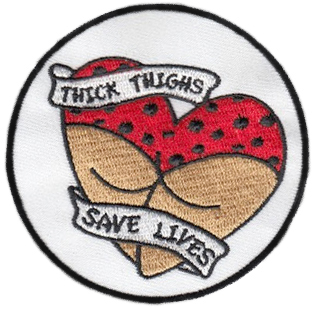 Thick Thighs Save Lives Patch Dj All The Way Kay Последние твиты от thick thighs save lives (@ttsl_cvg). thick thighs save lives patch dj all the way kay