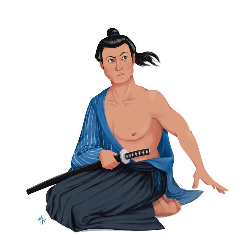 July   Theme: Samurai/Geisha