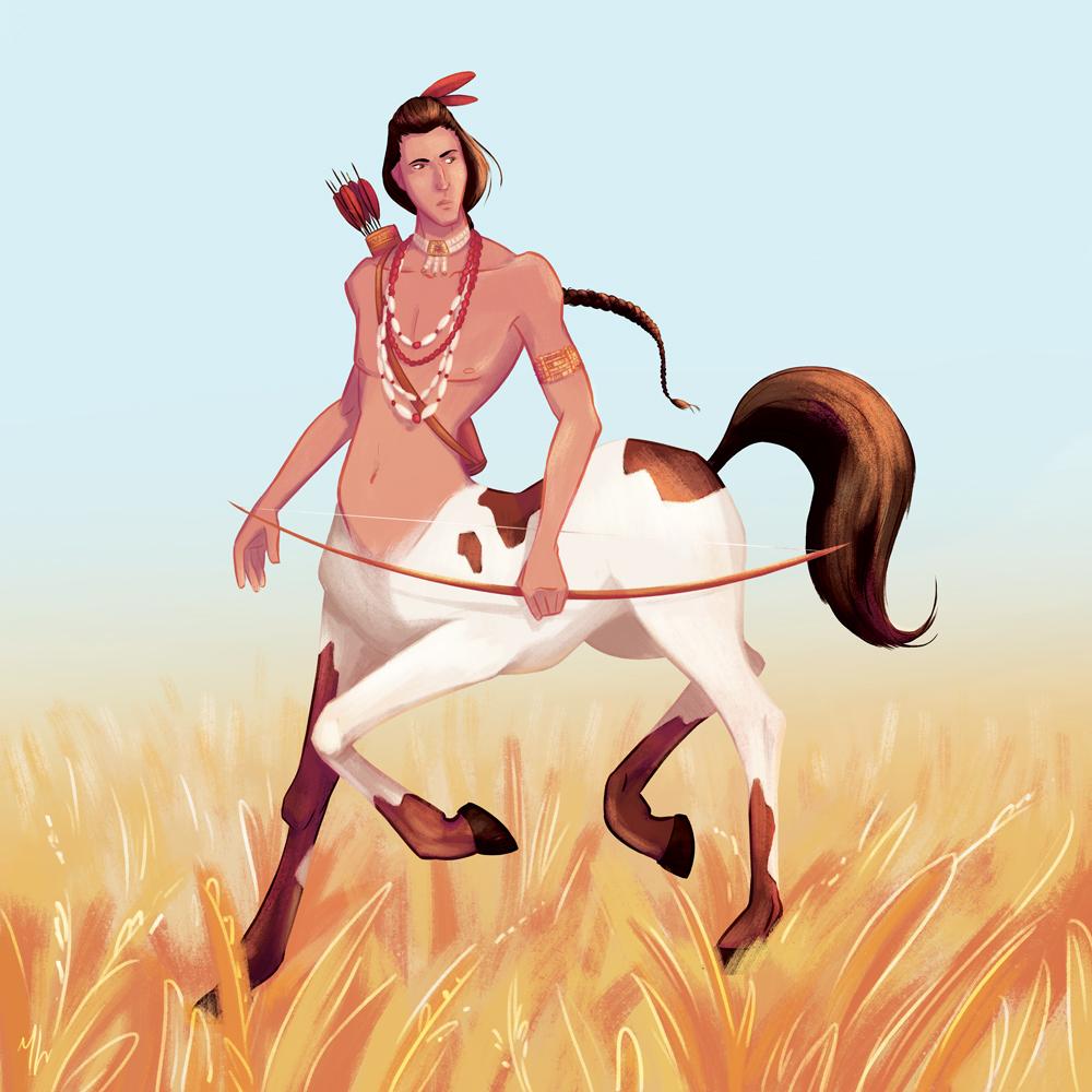 September   Theme: Centaurs