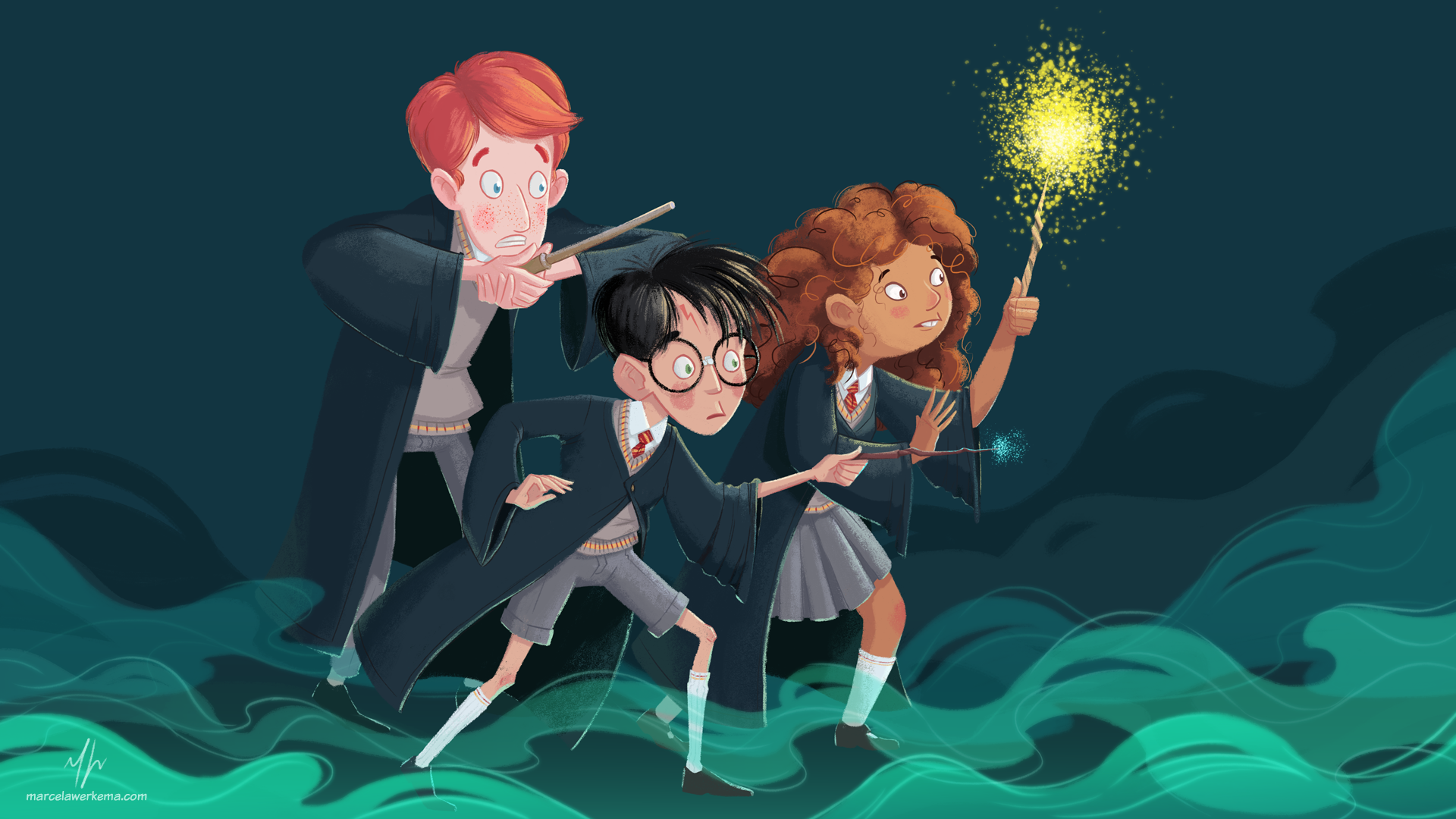 Fanart of Harry Potter
