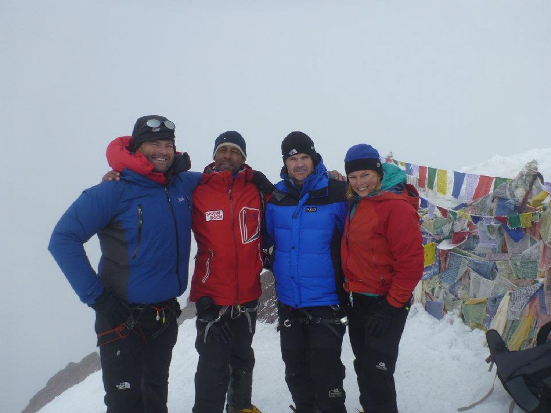 With the Marlborough College crew in Ladakh