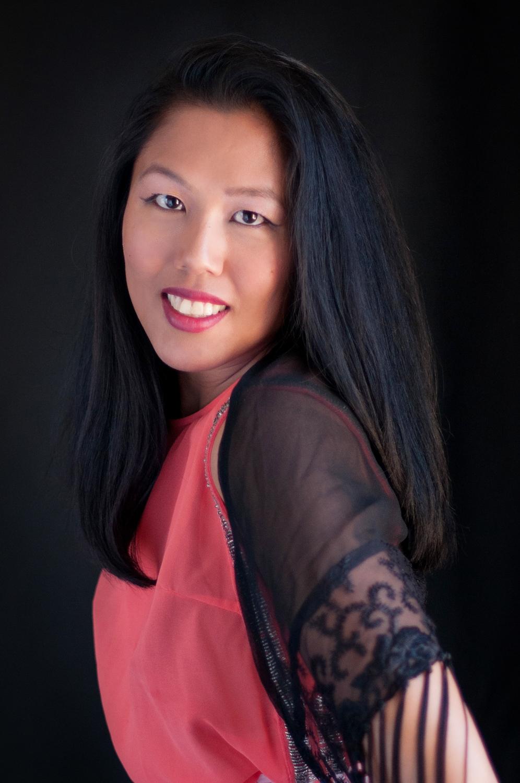 classic portrait of asian woman