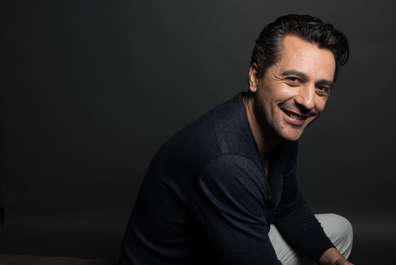 personal branding portrait of a smiling, confident businessman