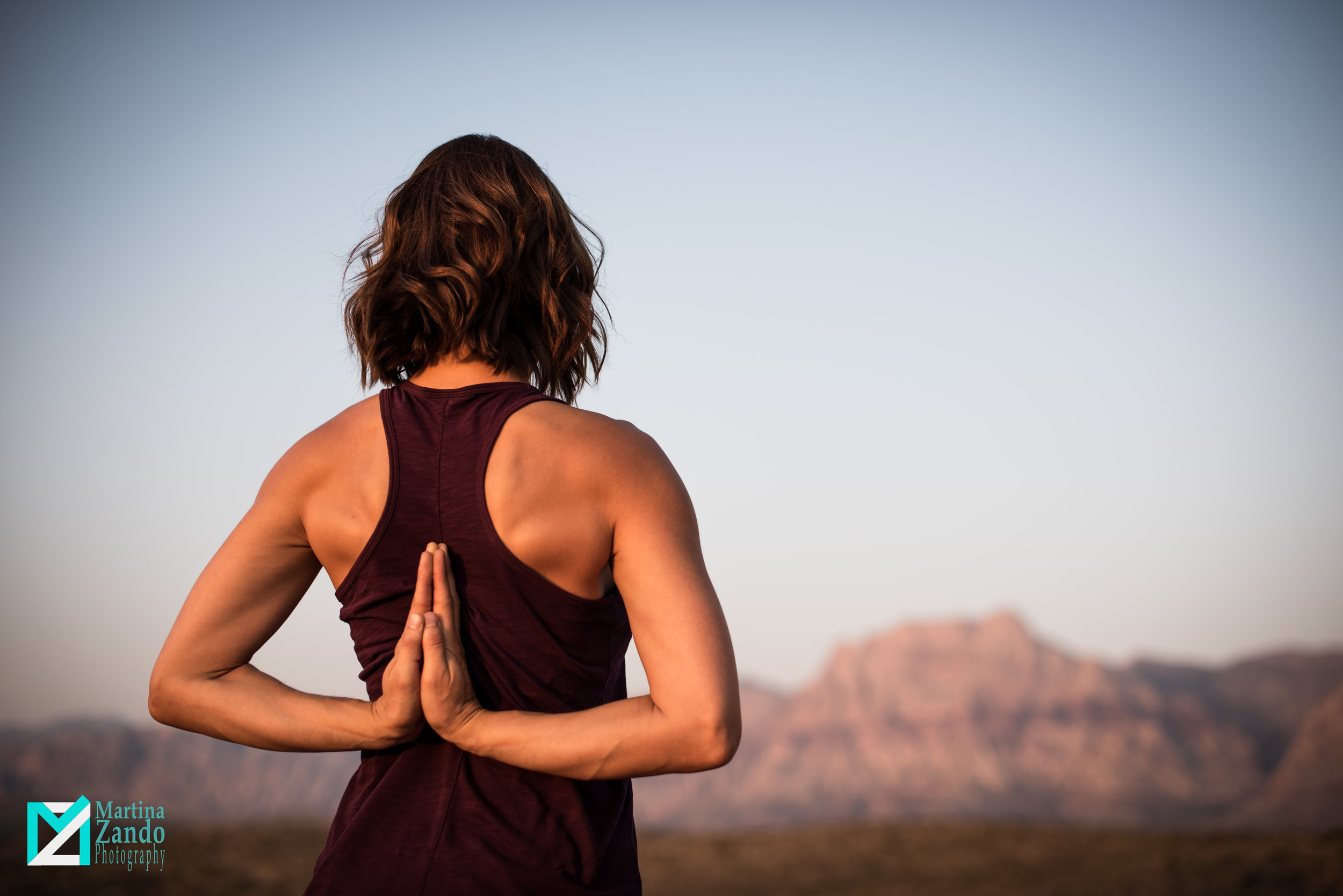 red rock yoga photographer