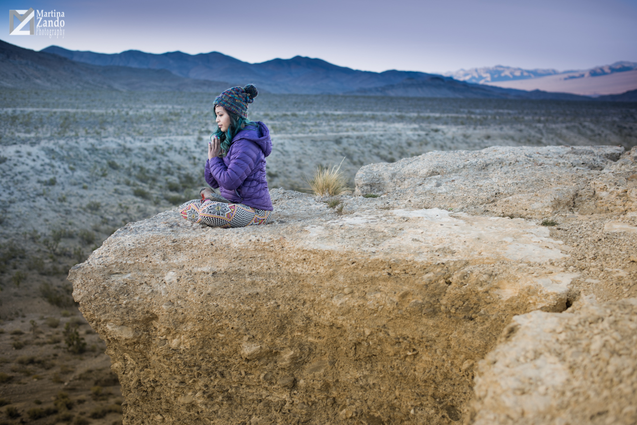 yoga  instructor photoshoot mnt. charleston