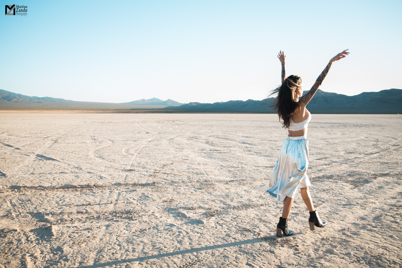 Las Vegas desert lifestyle photo Naty Ashba