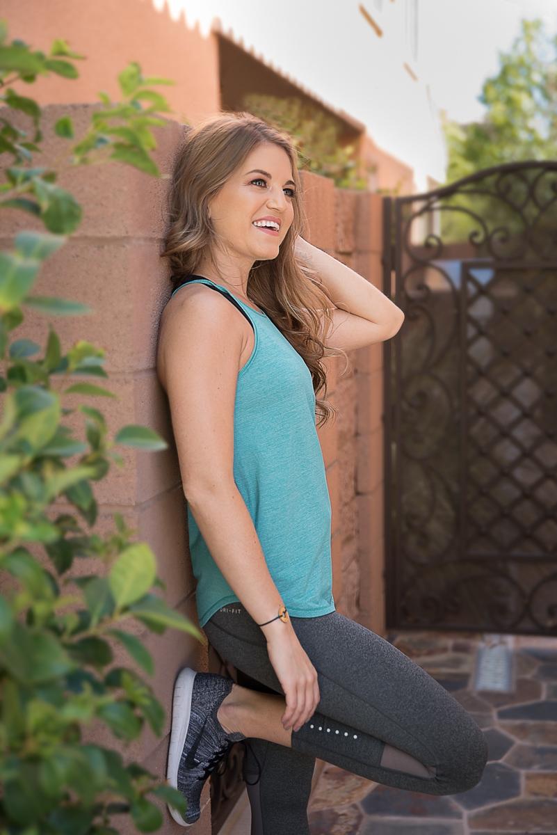 outdoor photo personal branding Amber Cherveny