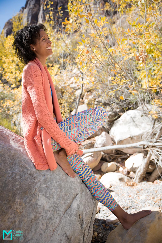 fitness and lifestyle model autumn photoshoot
