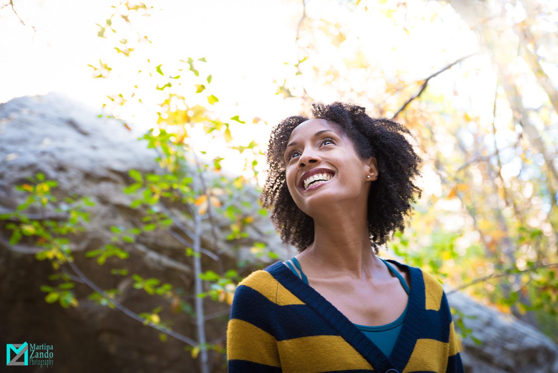 Kris blunt Las Vegas happy portrait in  autumn