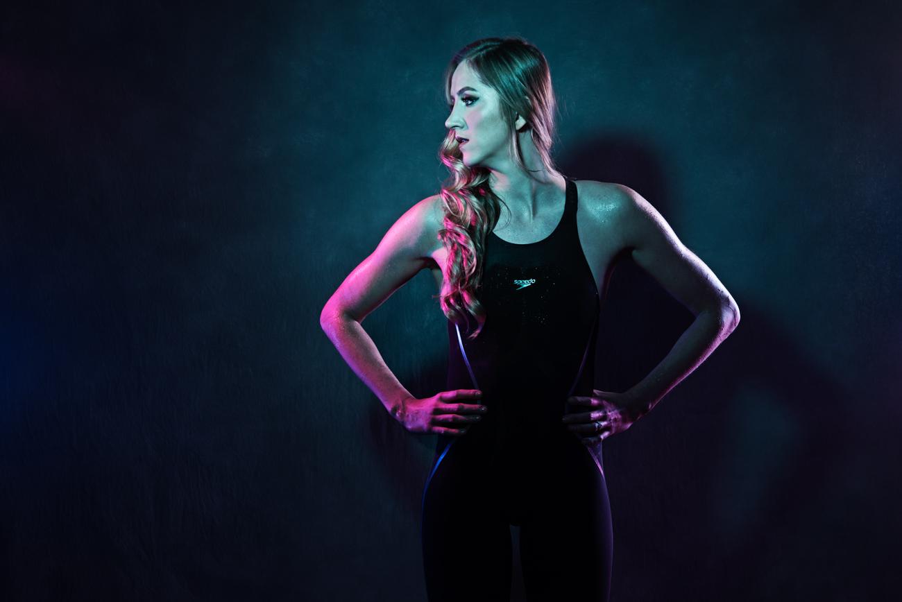 fitness studio photo of swimmer Kasia Wilk