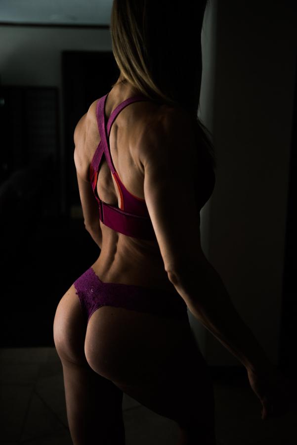 sensual fitness model las vegas