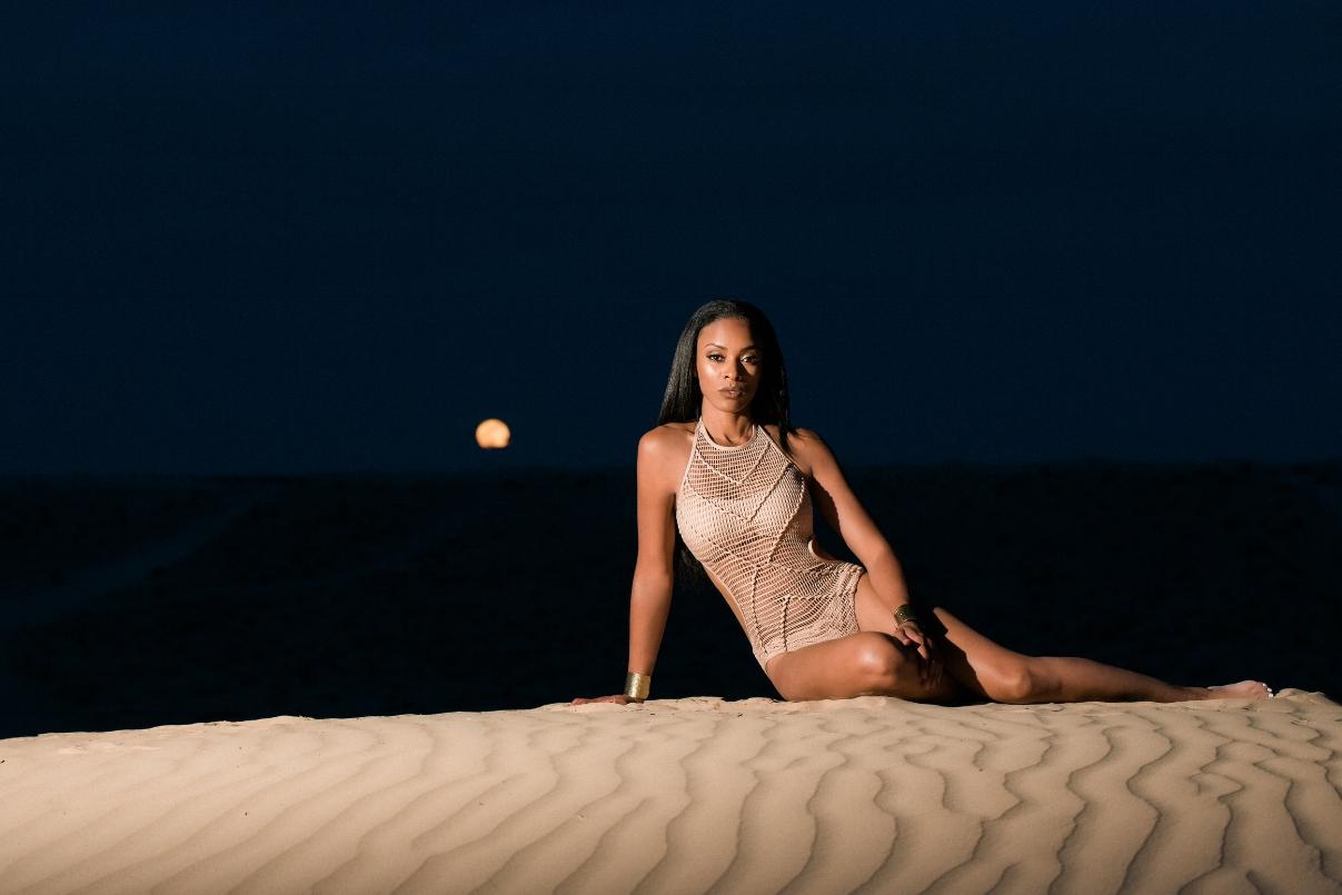 desert beauty photoshoot las vegas