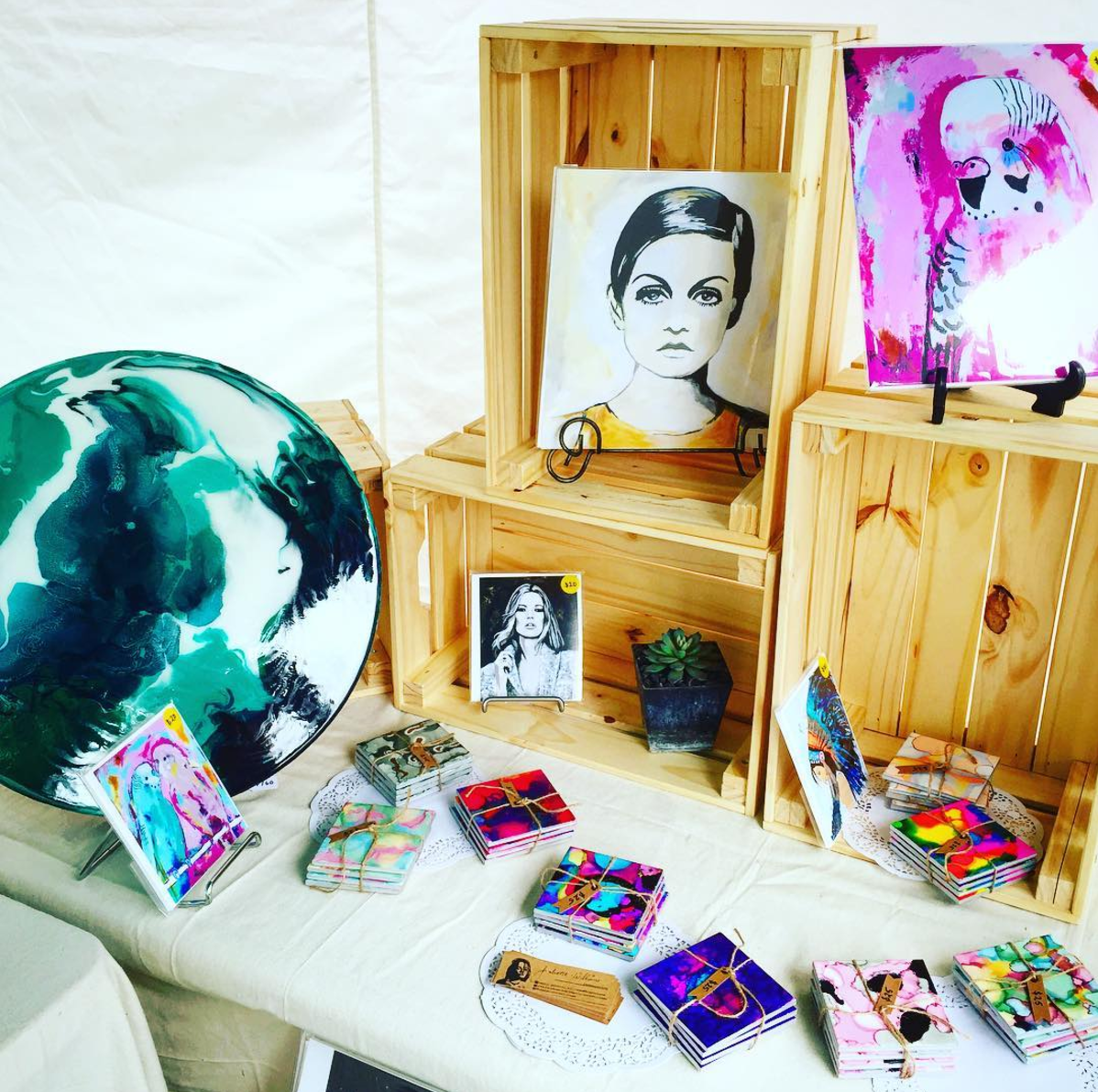 Juliette Williams - Bright and colourful prints and homewares.