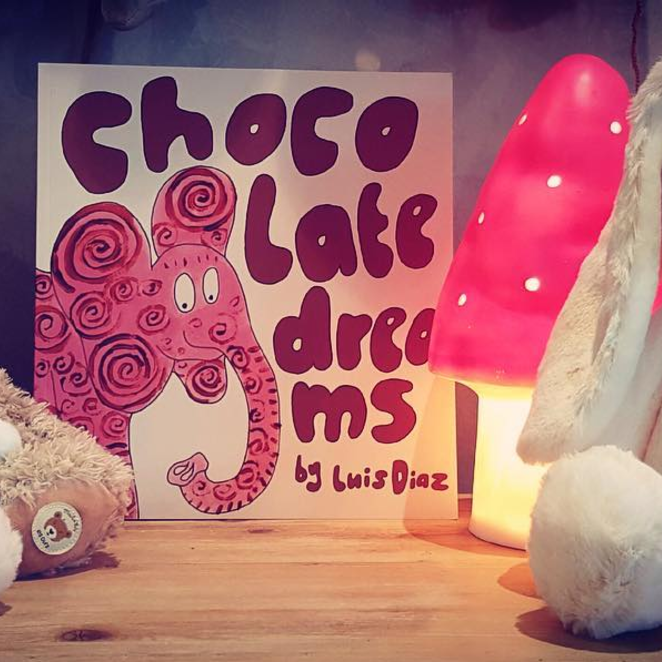 Chocolate Dreams - Written for his daughter, Luis's story is that of dreams... in chocolate!