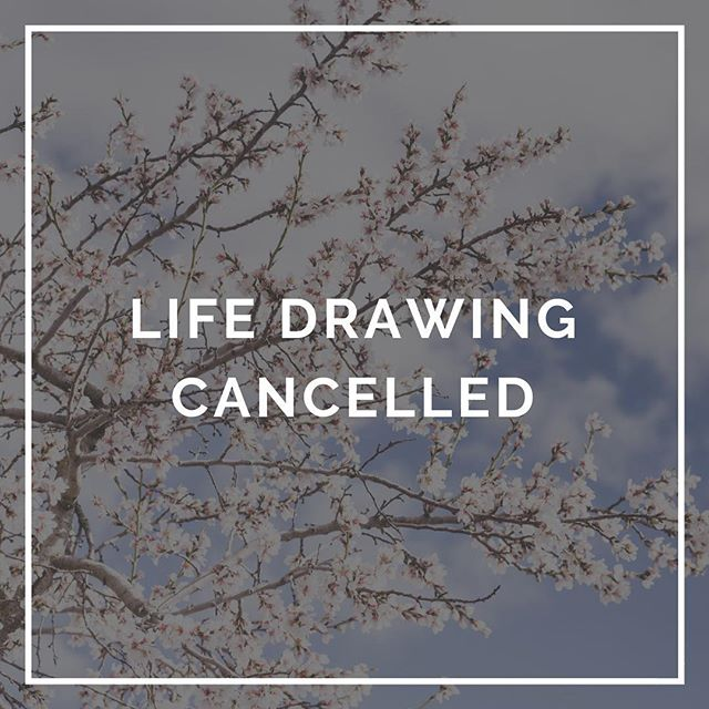 Sorry peeps, just a quick note there is no life drawing tonight. We will be up back and running next month!  Xx #draw #winter @melbourne