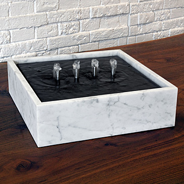 SQUARE BLACK FOUNTAIN