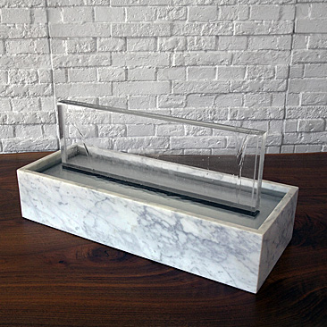 RECTANGULAR SILVER FOUNTAIN