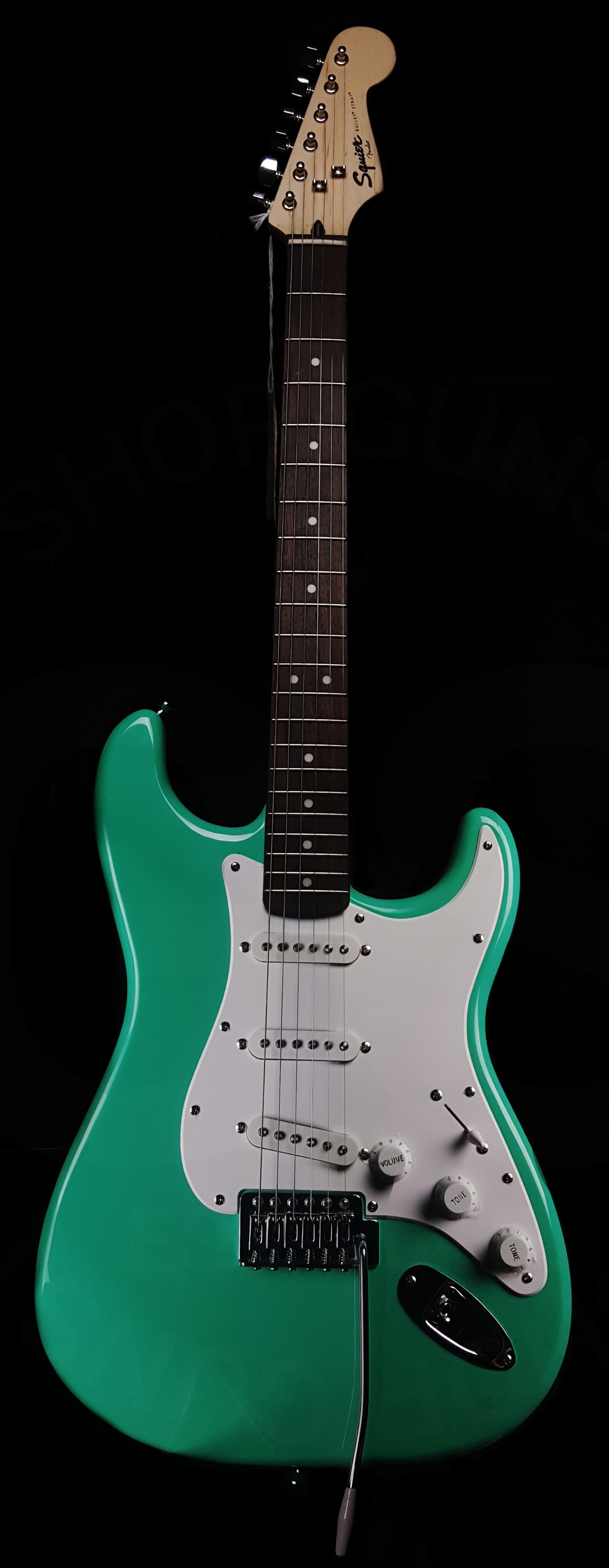 2017 squier bullet surf green