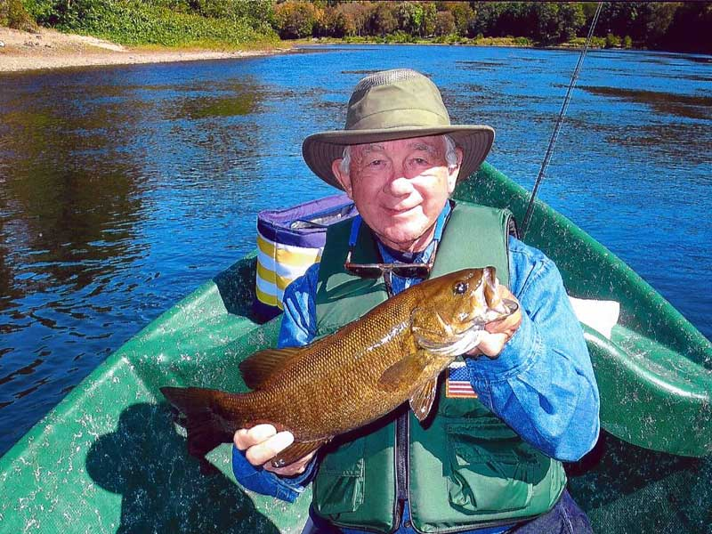 Smallmouth Bass fishing with Sweetwater Guide Service