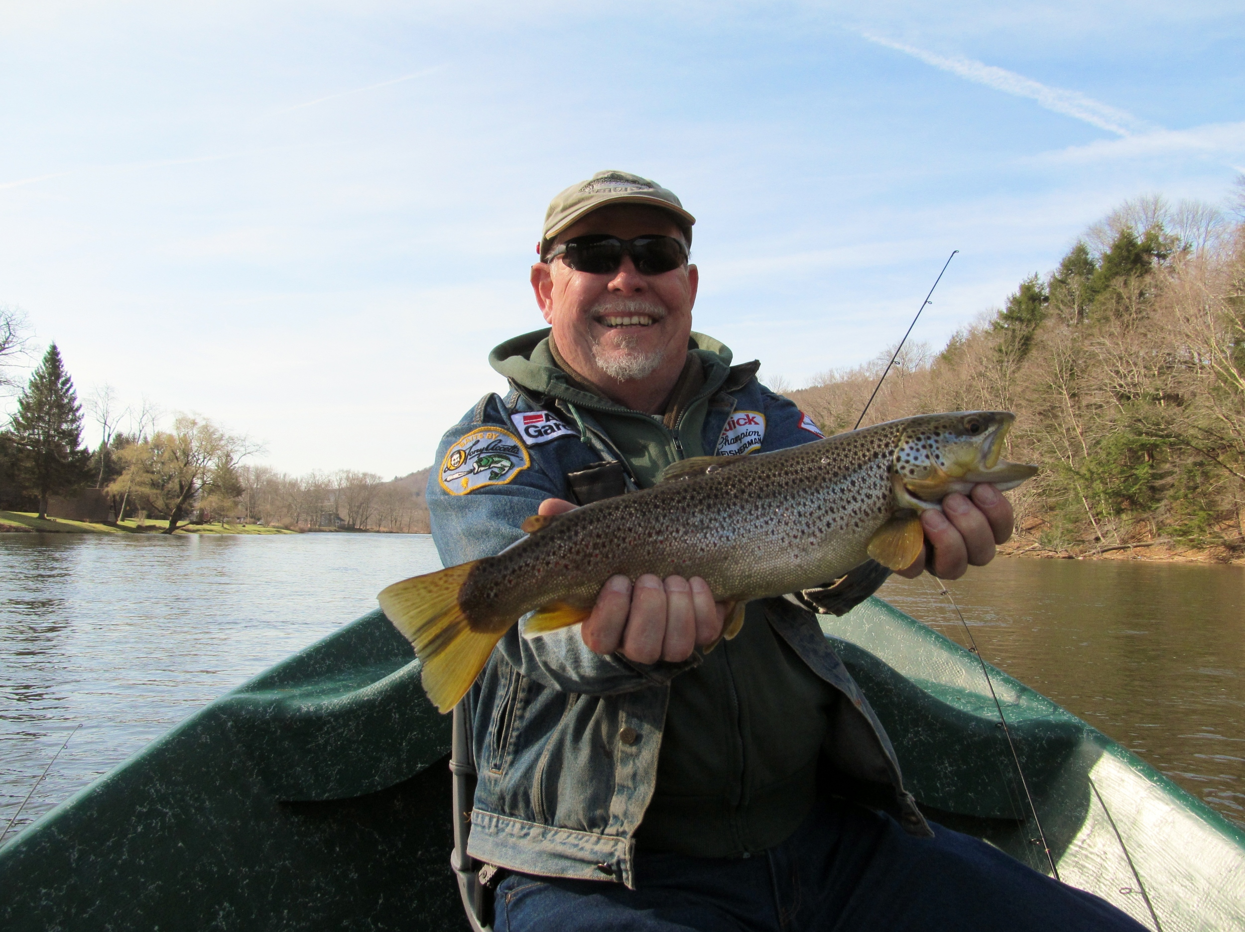 Delaware river trout fishing Sweetwater Guide Service