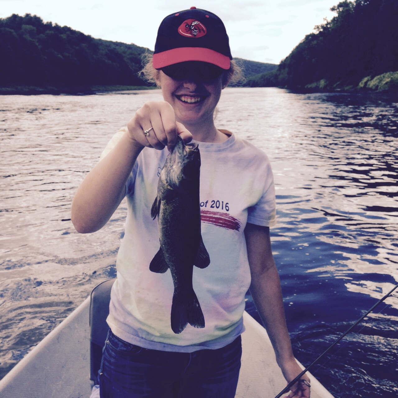 A nice Bass for a new Delaware river angler!