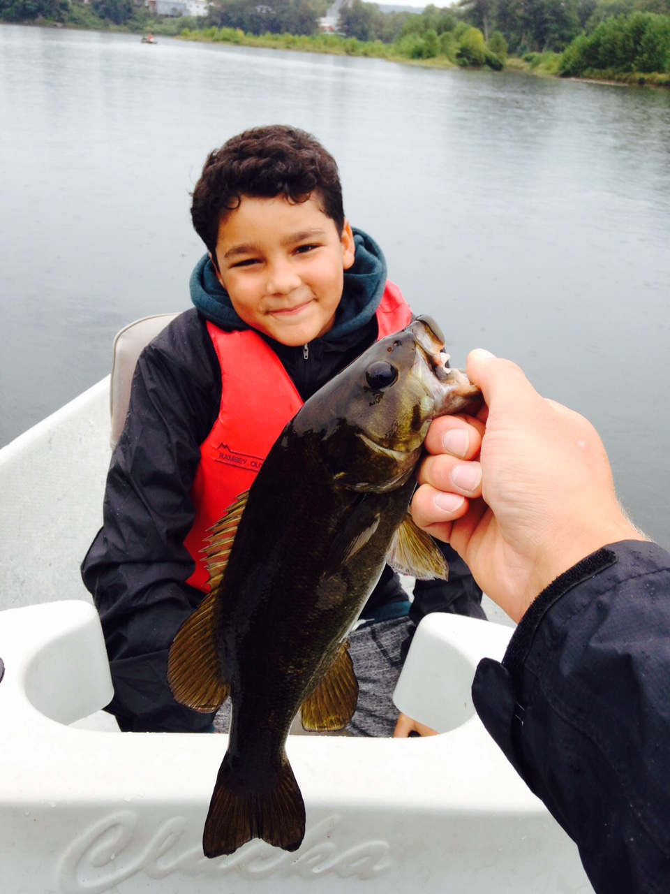 09/12/15A first fish for a new Delaware river angler!