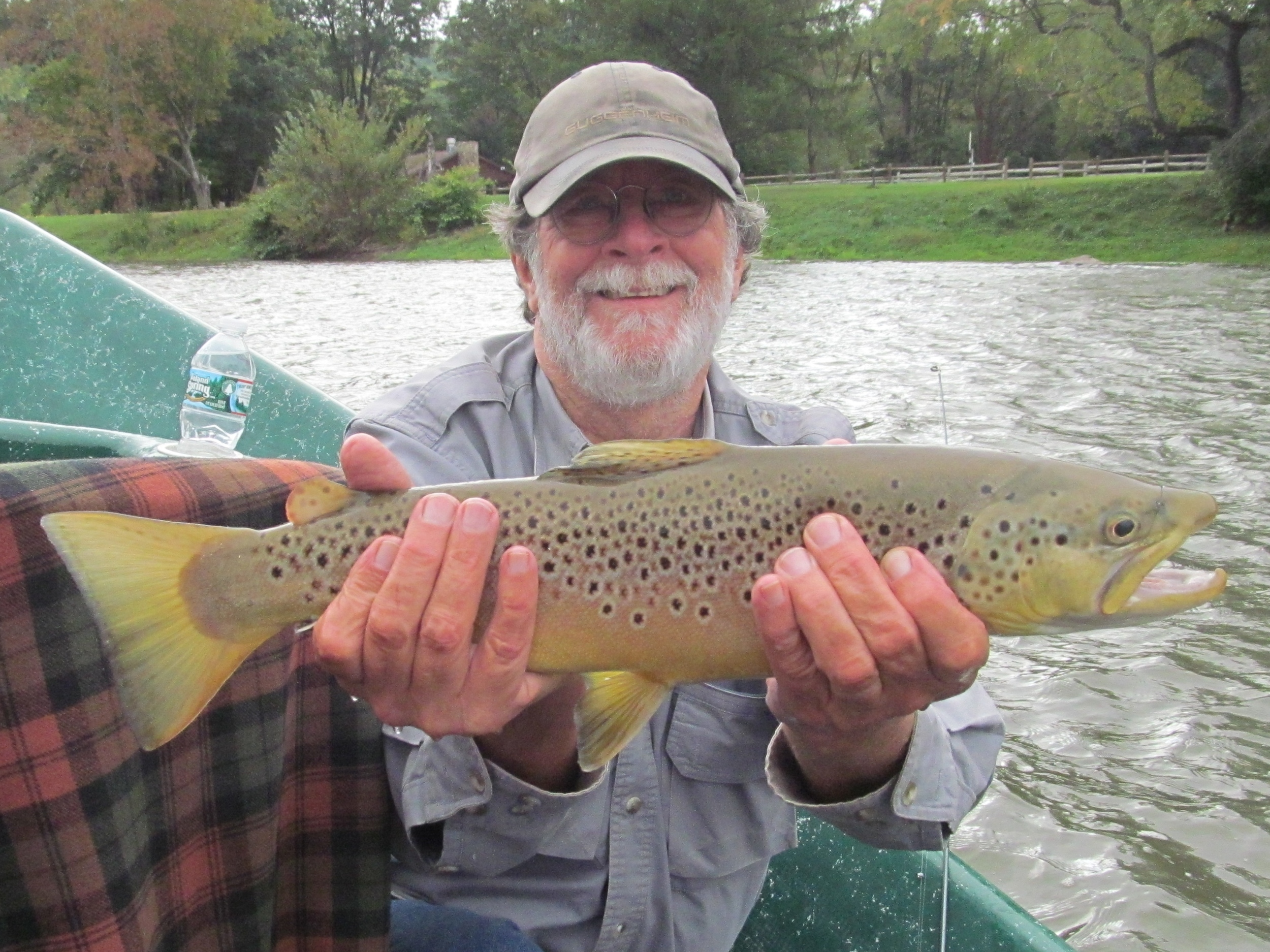9/28/15Keith S. With a big West Branch Brownie!