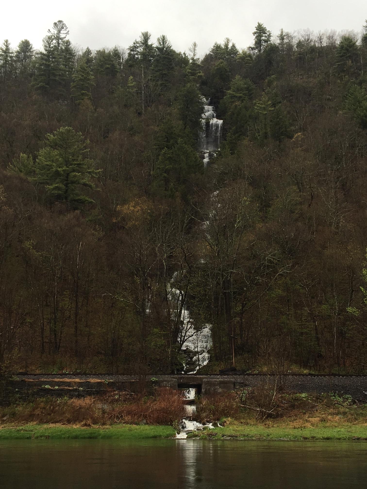 Jensen's Ledges Waterfall