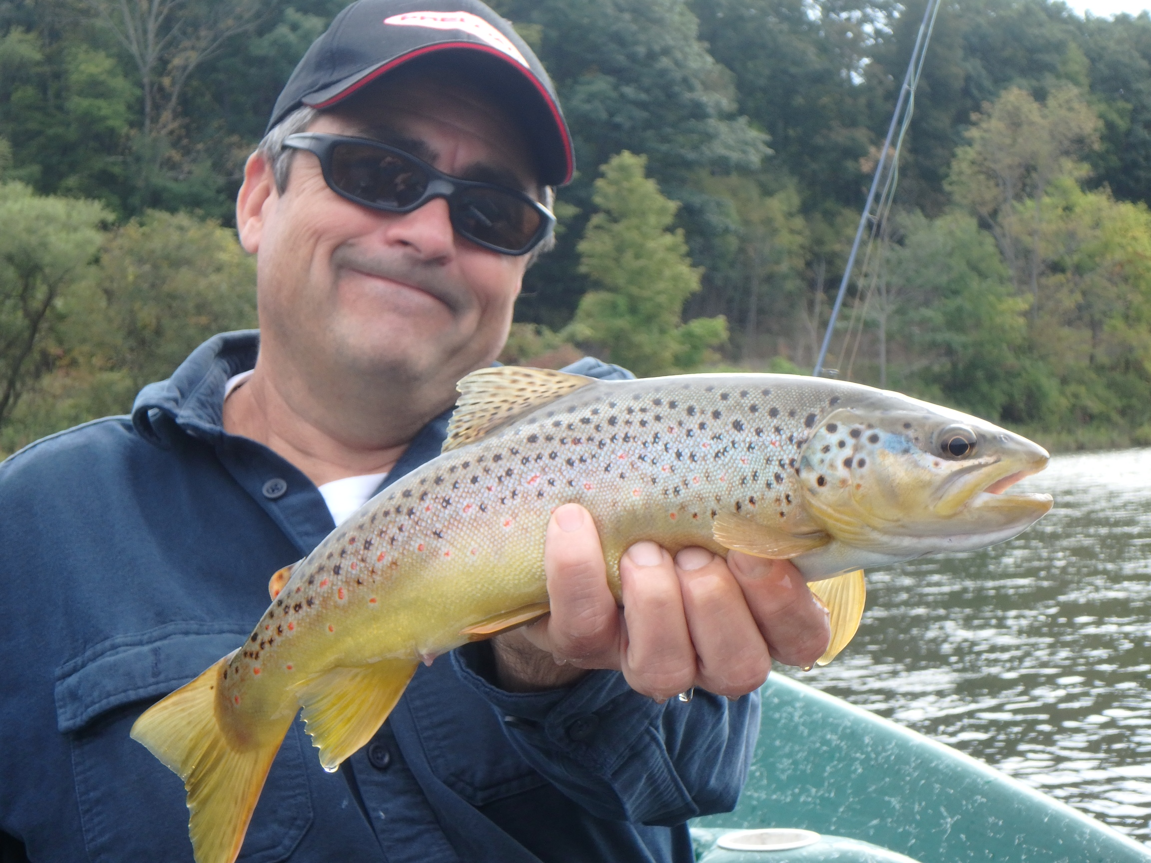 Tony D. with another nicely colored West Branch Brownie.