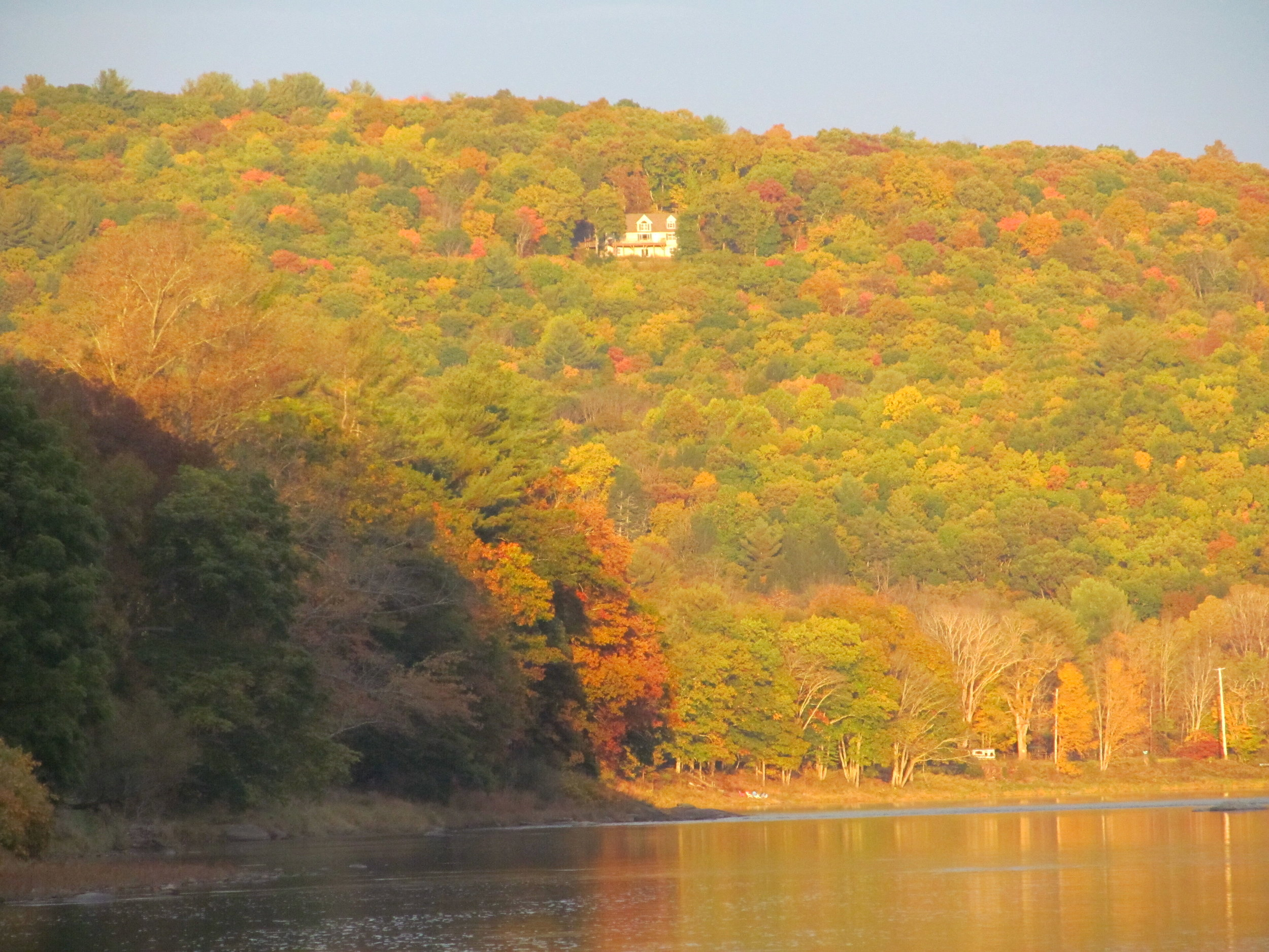 A fall evening above Callicoon