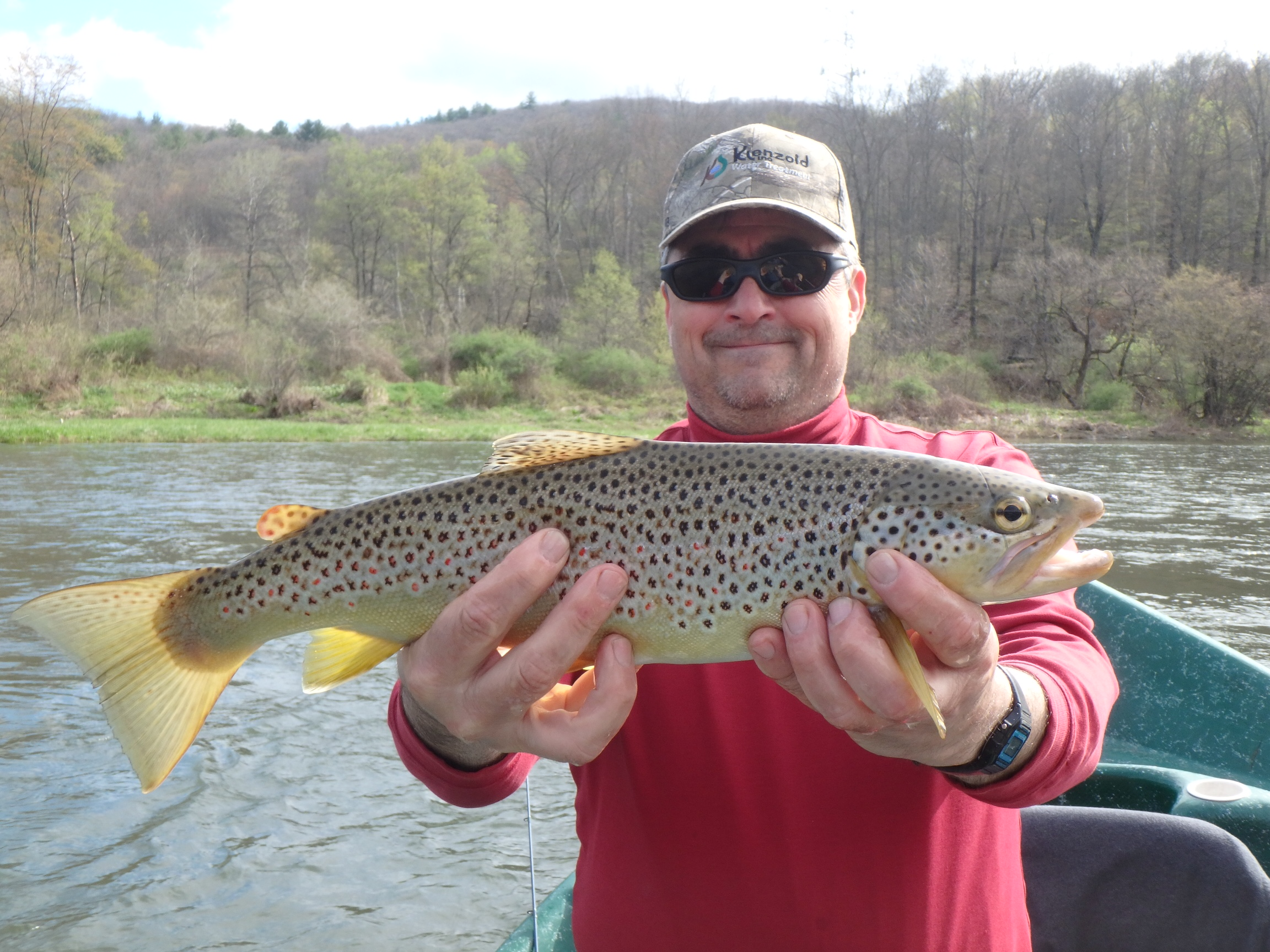 Tony D with a nice Brownie!