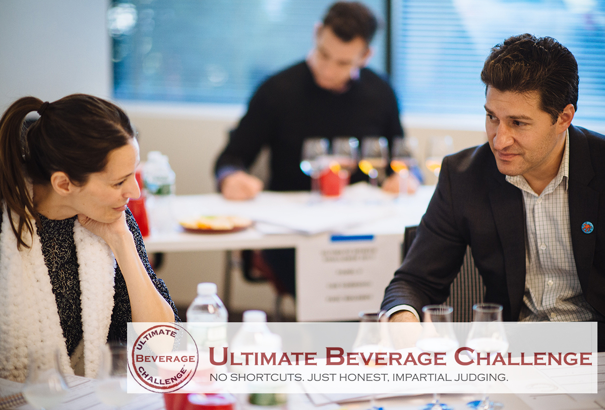 May 2017    Ultimate Beverage Challenge 2  017 judging