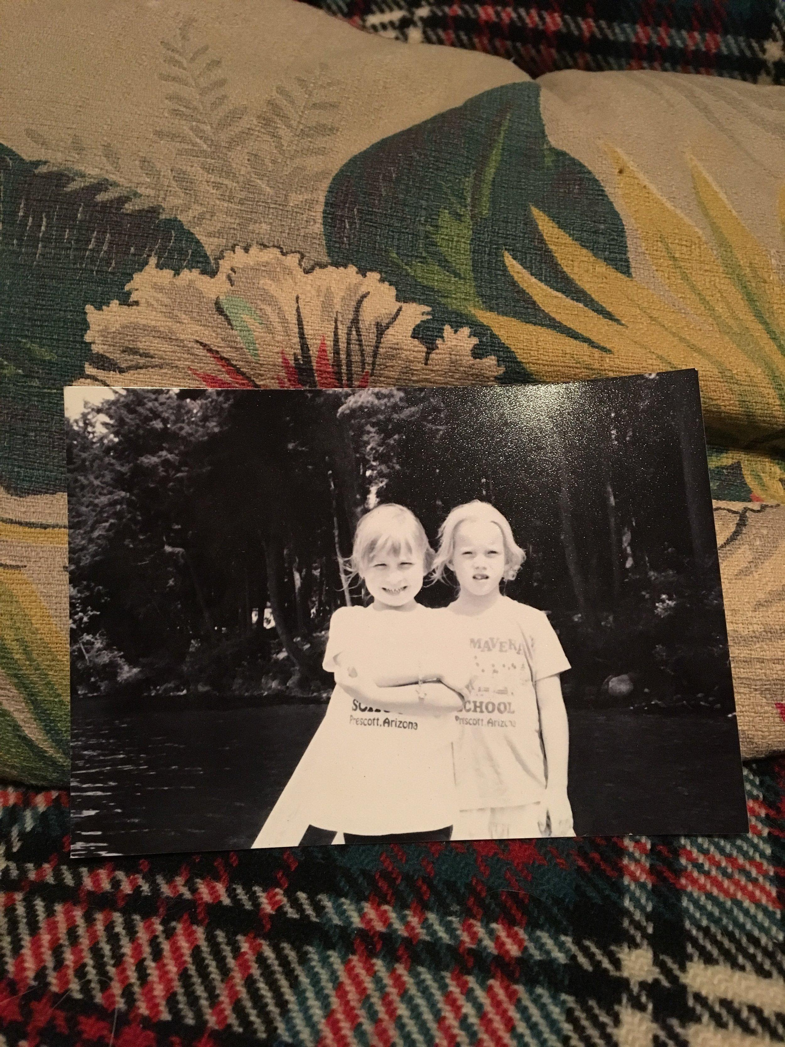 cousins, circa 1996