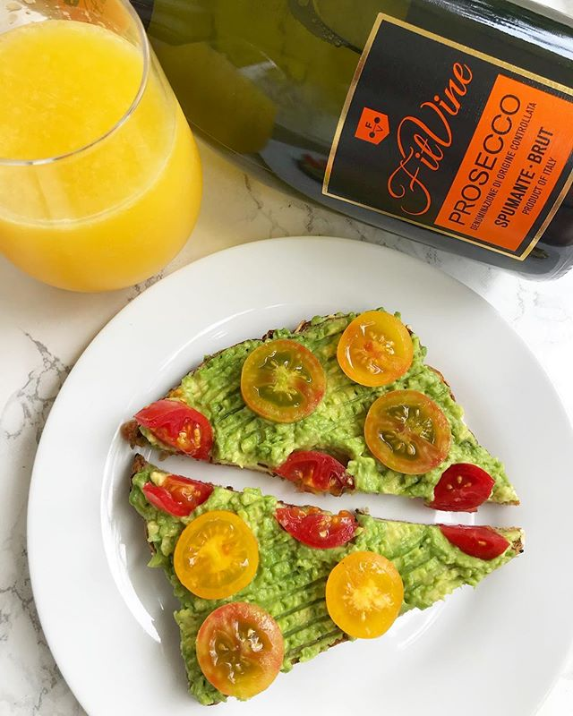 #GIVEAWAY - My avocado toast brunch tastes infinitely better paired with a mimosa made using @fitvine_wine's NEW prosecco 🥂 Yep, you read that right. The greatness that is @fitvine_wine now comes in prosecco! That means no additives and less sugar, calories, carbs, and sulfites than traditional wines. To celebrate we are giving one lucky winner two bottles of prosecco. . To enter to win: 1) Follow @fitvine_wine and @allroadsleadtohealthy on Instagram. 2) Tag two prosecco loving friends in the comments below 🥂 3) Bonus - how will you enjoy your @fitvine_wine prosecco? . You can comment below as many times as you want! More comments = more chances to win! USA ONLY (excluding OK, ND, AL, KY, MS, UT and DE). Must be 21+ to enter....Winners will be sent a DM. This giveaway is not endorsed by or affiliated with Instagram. Giveaway ends 9/10/18 at 11:59 PM EST. #FitVineWine #MyFitVineWine #DrinkClean